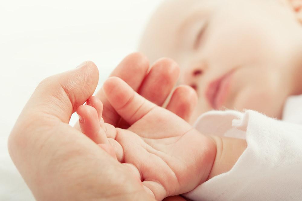 Baby voetje